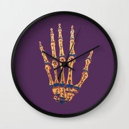 Hand Terrarium Wall Clock