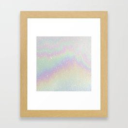 Holographic! Framed Art Print