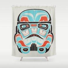 Skull Warrior - Alliance Is Rebellion - Stormtrooper,  Shower Curtain