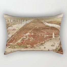 New Amsterdam - 1880 Rectangular Pillow