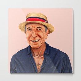 Hipstory - Leonard Cohen Metal Print
