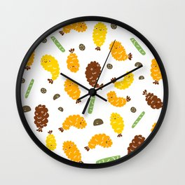 Tempura city Wall Clock