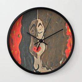 All Black is Beautiful Wall Clock