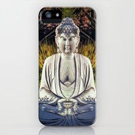 Bad Day Buddha iPhone Case