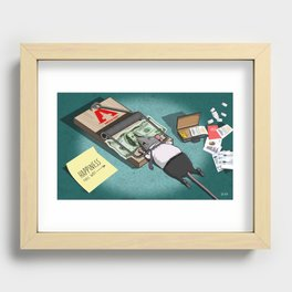 The Rat Trap Recessed Framed Print