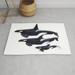 Orca (Orcinus orca) Rug