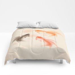 Goldfish 001 Comforters