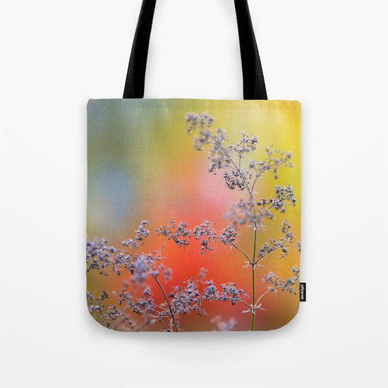 Flowers in autumn Tote Bag