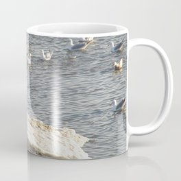 Eagle on Ice Coffee Mug
