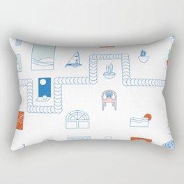 Casa de playa Rectangular Pillow