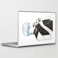 cigarette Laptop & iPad Skins featuring Cigarette by Alessandra Castagnolo