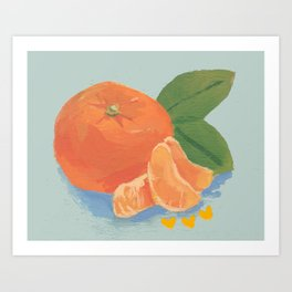 Satsuma Art Print