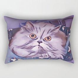 The Persian Cat Rectangular Pillow