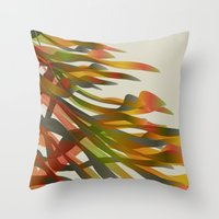 brazil Throw Pillows featuring Brazil by Angelo Cerantola