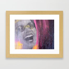 N/A NOW Framed Art Print