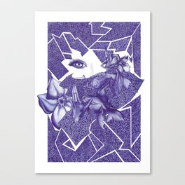 uproar Canvas Print