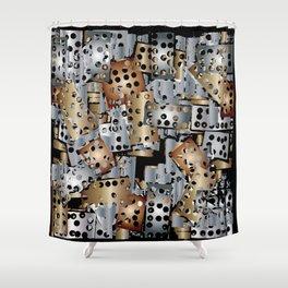 metal scraps Shower Curtain