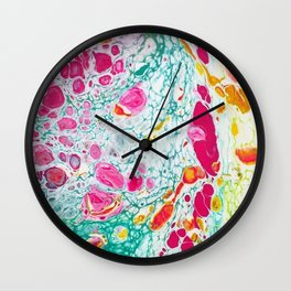 Summer Crush Wall Clock