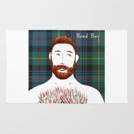 Beard Boy: Finlay Rug