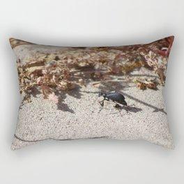 Black Blister Beetle... Rectangular Pillow