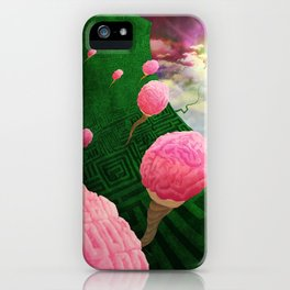 feed your brain iPhone Case