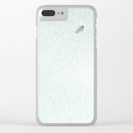 Woman Floating Clear iPhone Case