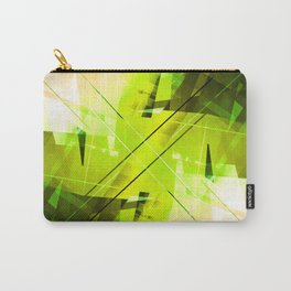 Toxic - Geometric Abstract Art Carry-All Pouch