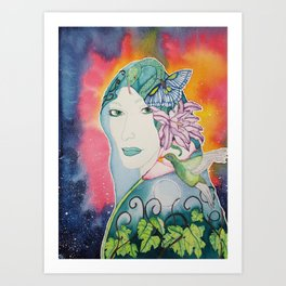 Gaia is Calling Art Print