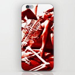 Crack a bone. iPhone Skin