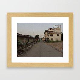 Streets #1 Framed Art Print