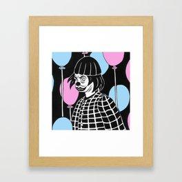 Evil Clown/Evil Klown Framed Art Print
