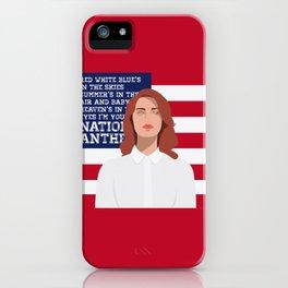 National Anthem iPhone Case