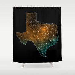 Texas StarStuff Shower Curtain