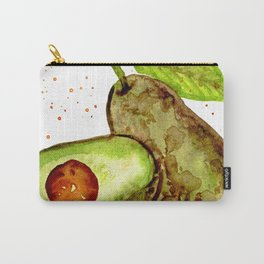 AVOCADO - Watercolor Painting Carry-All Pouch
