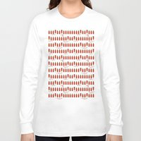 sriracha Long Sleeve T-shirts featuring That Sweet Heat by Volkstricken