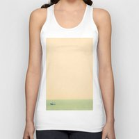 sailing Tank Tops featuring Sailing by Maite Pons