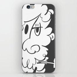 The Doodle Smoker iPhone Skin