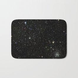 Space - Stars - Starry Night - Black - Universe - Deep Space Bath Mat