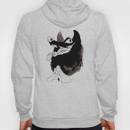 Never trust a wolf Hoody