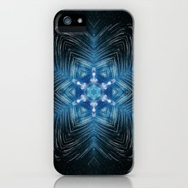 falling star mandala iPhone Case