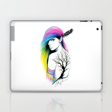-Stadt Indianer- Laptop & iPad Skin