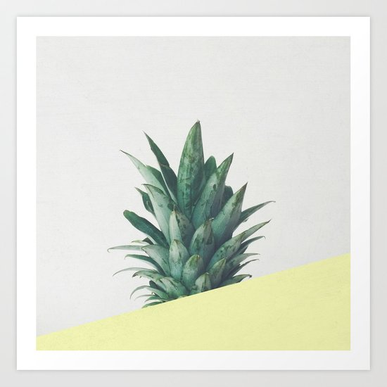 Pineapple Dip III Art Print