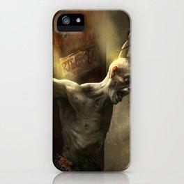 Zombi Hunter iPhone Case