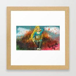 Zelda Breath of the Wild Framed Art Print