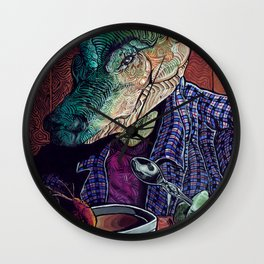 What's in the Gumbo Wall Clock