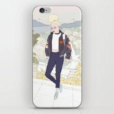 Milky Sunset iPhone & iPod Skin