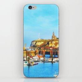 Dieppe Harbour iPhone Skin
