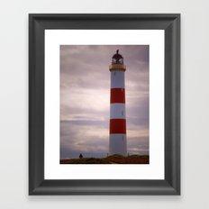 Tarbat Ness Lighthouse Framed Art Print