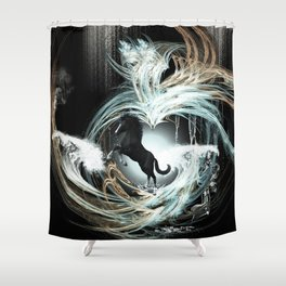 Beautiful horse Shower Curtain