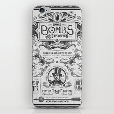 Legend of Zelda Bomb Advertisement Poster iPhone & iPod Skin